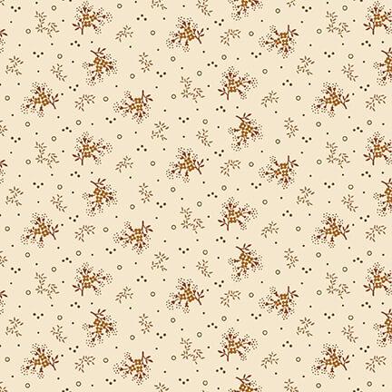 Henry Glass 2274-33 Cream Mini Floral