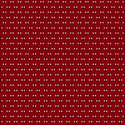 Buttermilk Winter Mini Cross Red