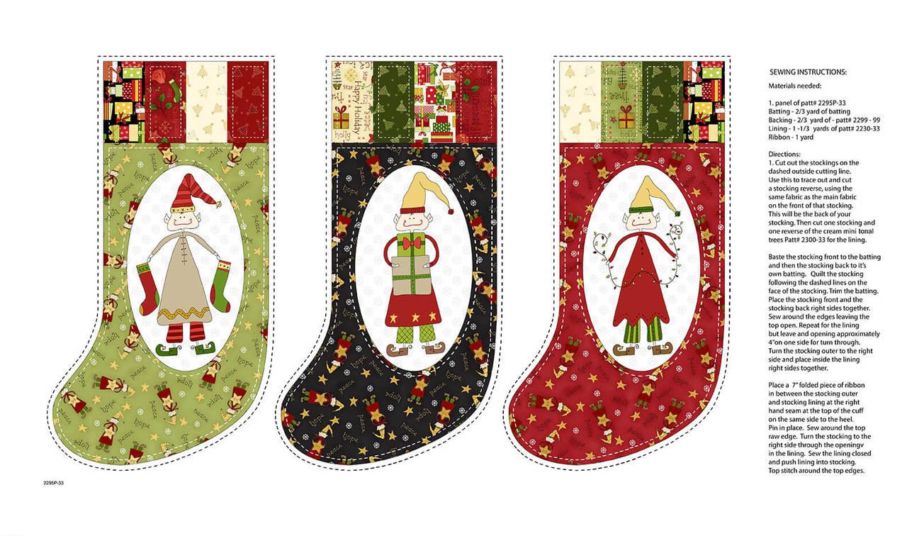 Christmas Elves - Stockings