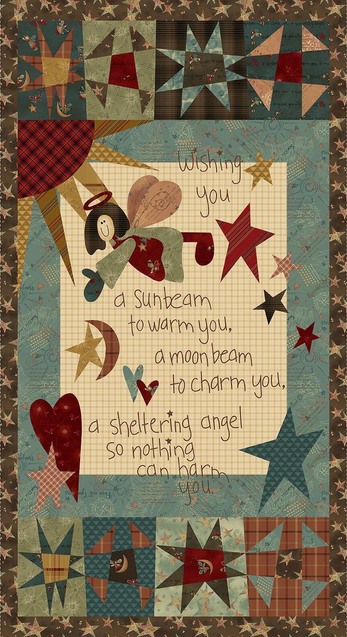 IRISH BLESSING Angel Panel