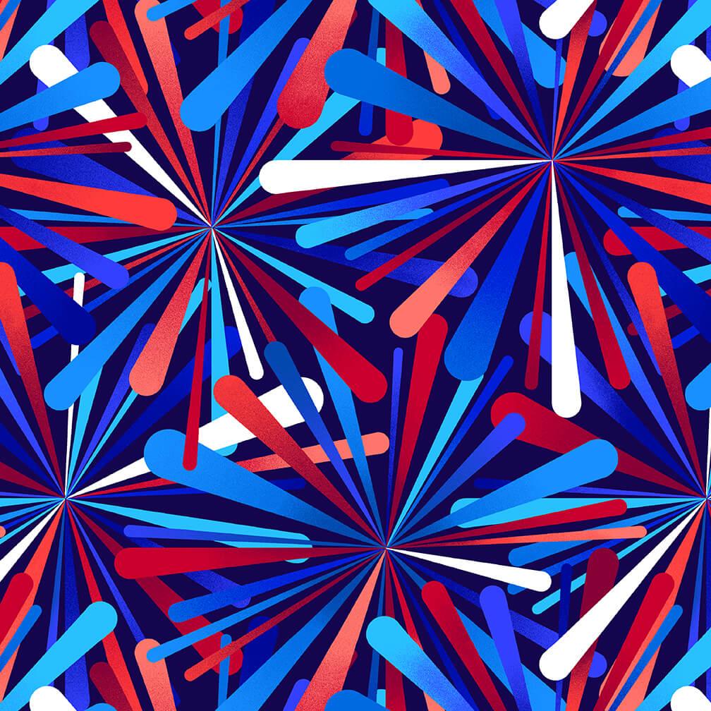 2390W-78 Patriotic
