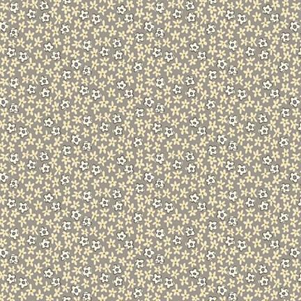 Mini Daisies, Gray