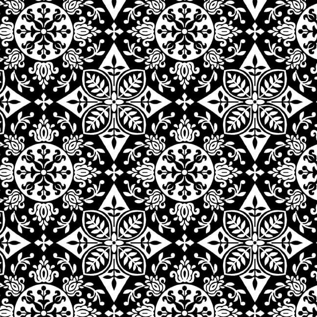 Black, White & Red Hot 2440-99 BLACK