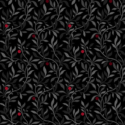 Black White & Red Hot Berry Vine Black/Multi - COMING SOON
