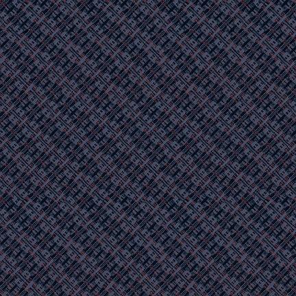 Best of Days - Navy Woven Texture