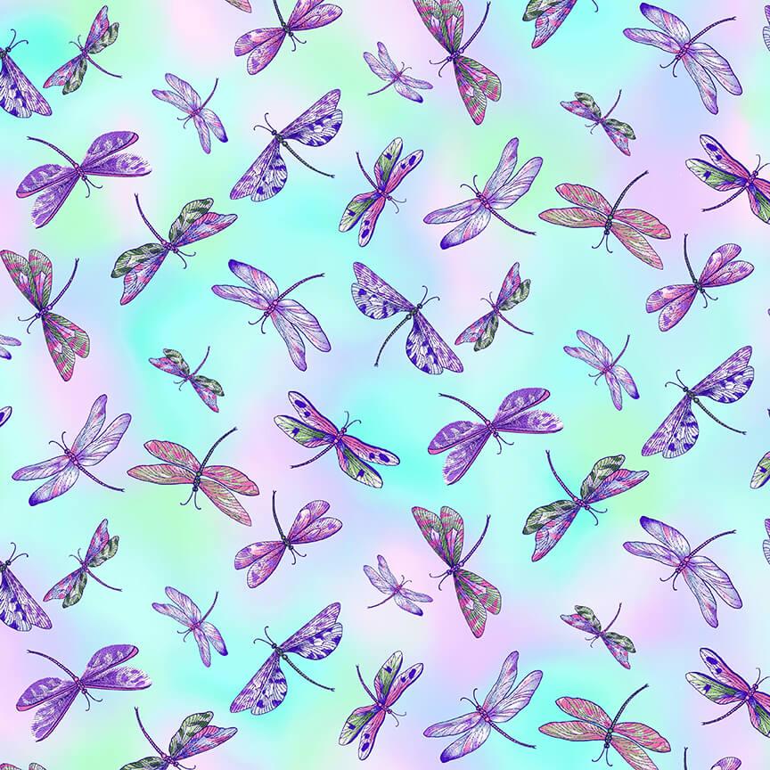 Dragonfly Garden 2463-17 Pastel