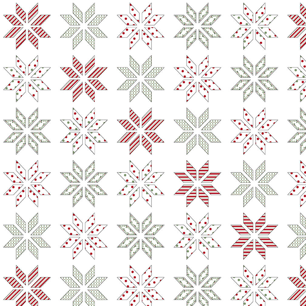 HOLLY HILL CHRISTMAS White 2479 18