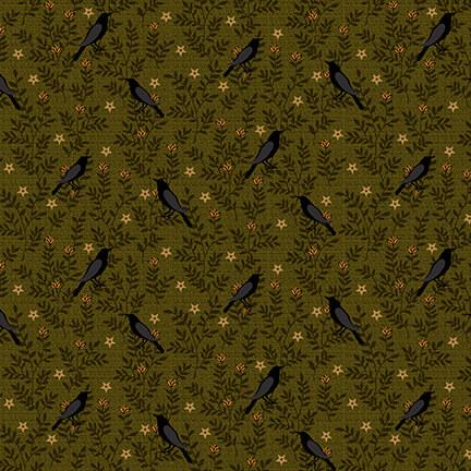 Moonshine Green Crows
