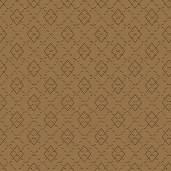 Folk Art Flannel IV F2585-34 Cocoa