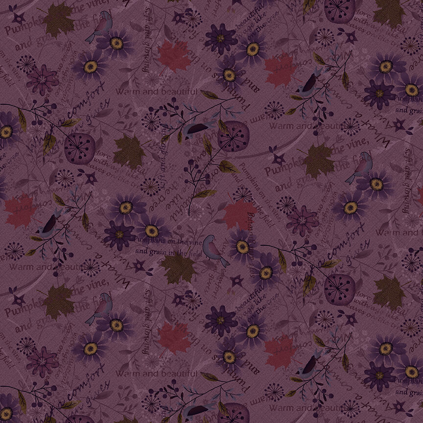 2684-55 Purple Blessings of Home
