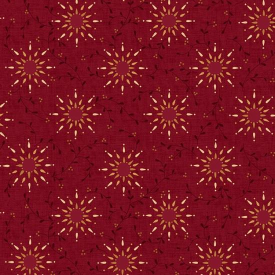 Prairie Vine 108 - Dark Red