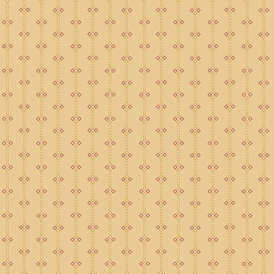 Butter Churn Tan Diamond Stripe