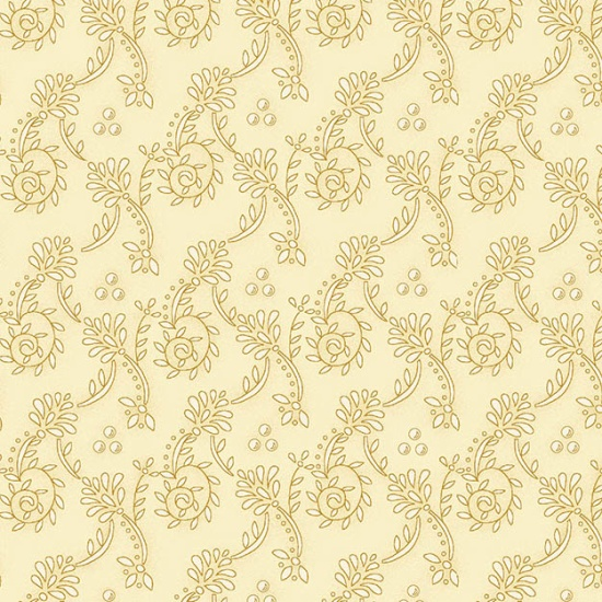 Butter Churn Cream Wallpaper Scroll