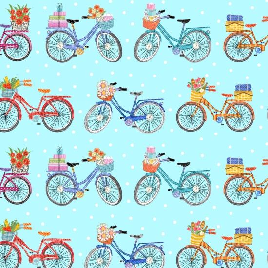 Enjoy The Journey Bicycle by Paula Joerling