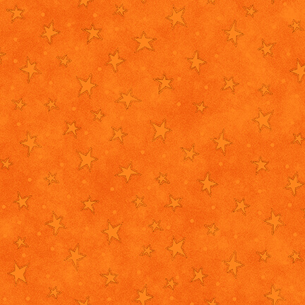Tangerine with tone-on-tone Stars