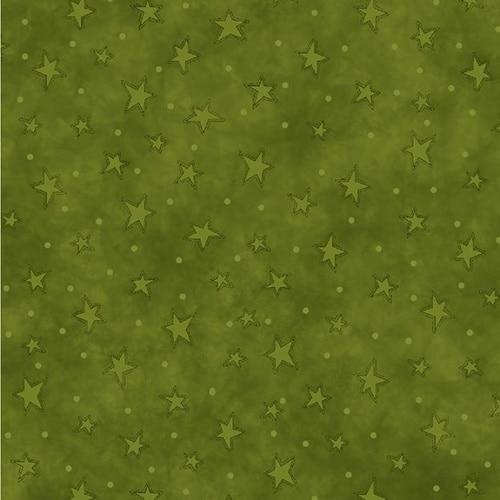 STARRY BASICS GREEN by HENRY GLASS