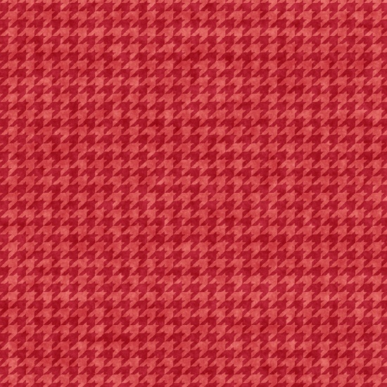 Hounds Tooth B 8624-22 Rose