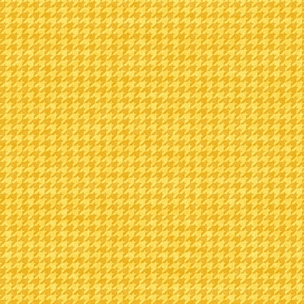 8624-34 Yellow Gold Houndstooth