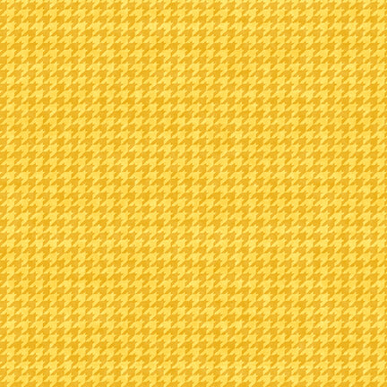 HOUNDSTOOTH HG YELLOW/GOLD