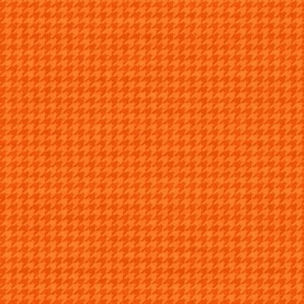 HOUNDSTOOTH Tangerine