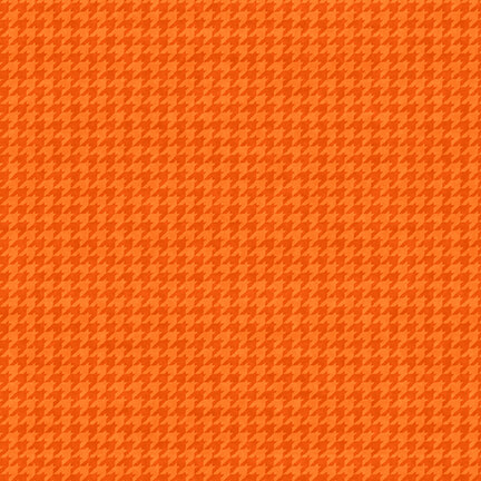 Hounds Tooth 8624-36 Tangerine