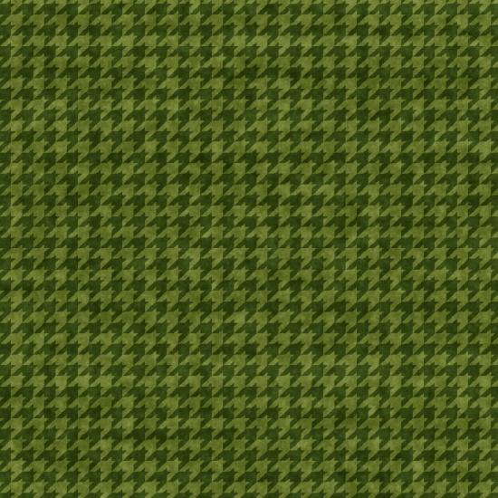 Houndstooth Basics Green 8624-66