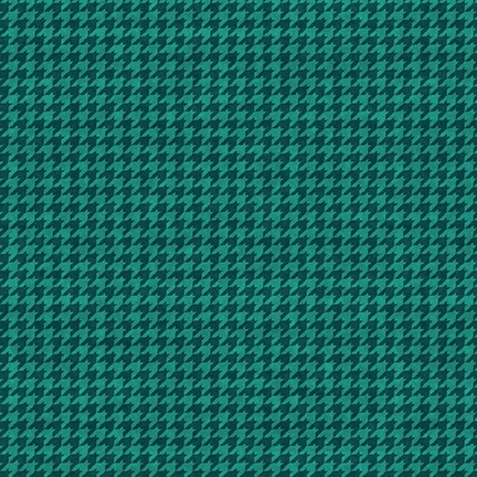 Papas Old Truck Houndstooth New Teal