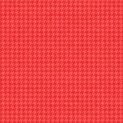 Hounds Tooth 8624-85 Rose Berry