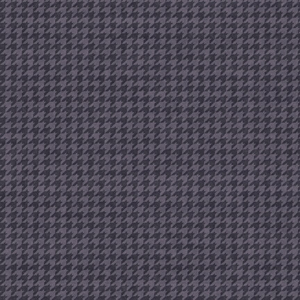 Houndstooth/Muted Purple