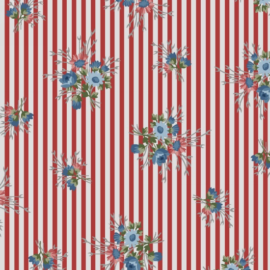 Flowers of Provence by Holly Hill Designs for Henry Glass 8849-18