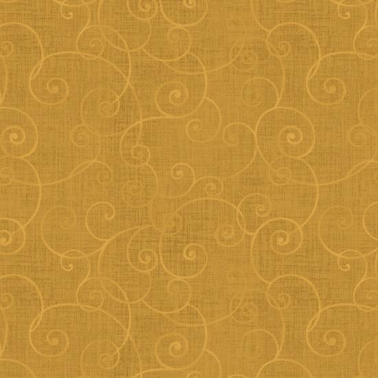 Gold Swirl Whimsy Basic