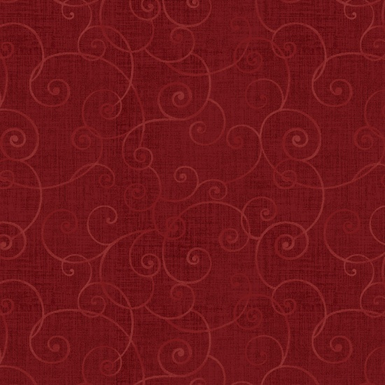 Whimsy Red Swirl 8945-88