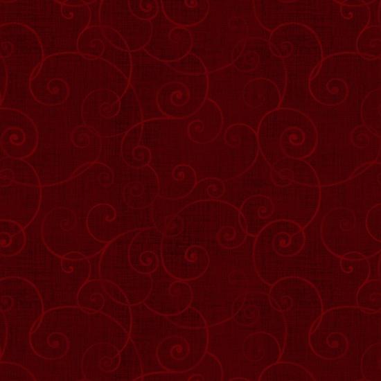 Whimsey Crimson Swirl-8945-89