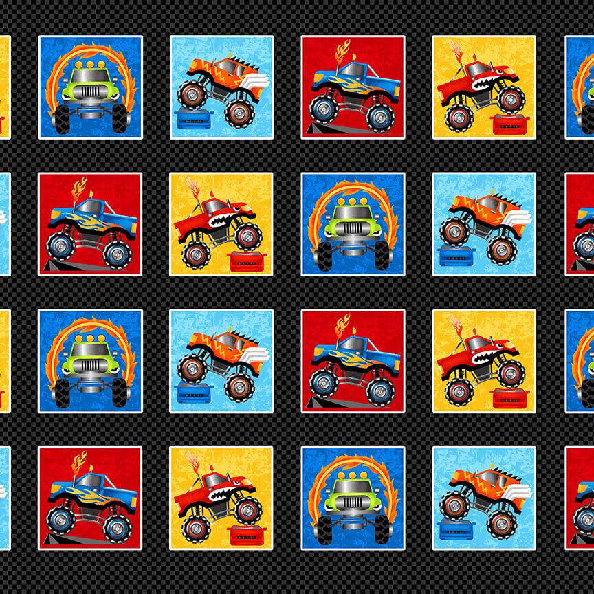 Monster Trucks 9011-99 Black