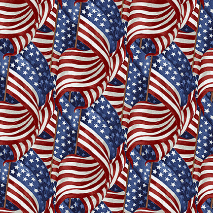 Live Free Blue Packed Flags 9178-78