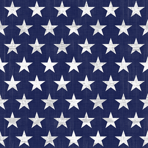 Live Free Blue Stars