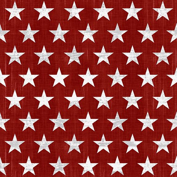 Live Free Red Stars 9183-81