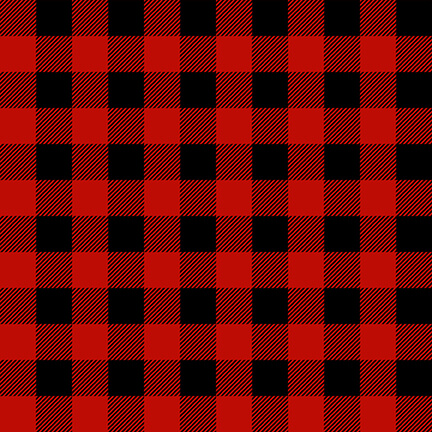 Timber Gnomies Red/Black  plaid