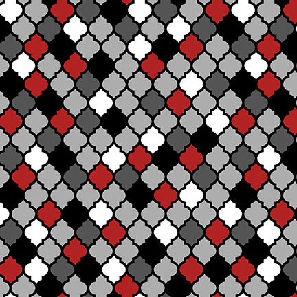 Moroccan Red Multi 9281-89
