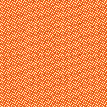 Wild and Free - Mini Dots Orange