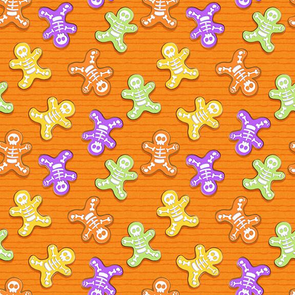 Glow Ghosts 9602G-33 Orange