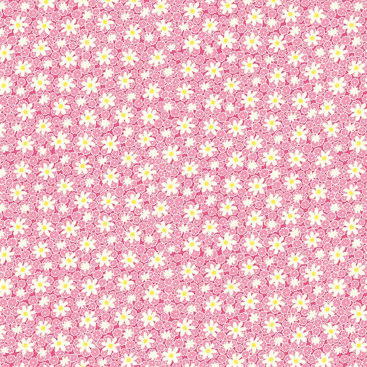 Nana Mae V - Packed Daisies - Pink