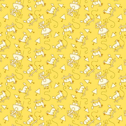 Nana Mae V - Monotone Little Bo Peep - Yellow
