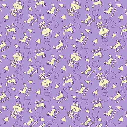 Nana Mae V - Monotone Little Bo Peep - Lavender