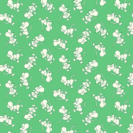Nana Mae V - Tiny Mice - Green
