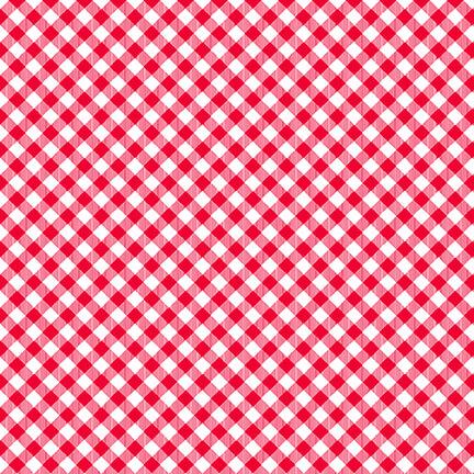 Chelsea's Checks Red & White