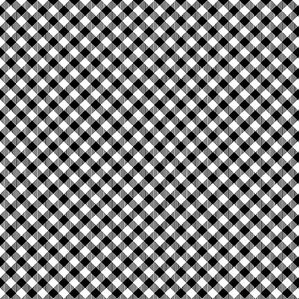 Chelsea's Checks Black & White