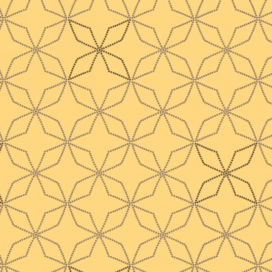 Bumble Garden 2-Ply Flannel Yellow Diamonds
