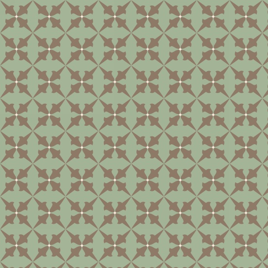 Bumble Garden 2-Ply Flannel Green Blocks