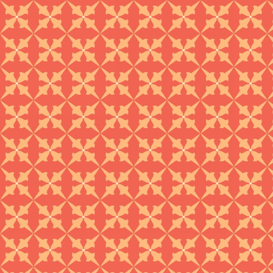 Bumble Garden 2-Ply Flannel Orange Blocks